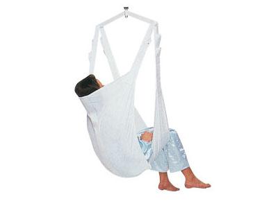 Imbragatura - Modello KOMETA ad amaca con supporto per la testa -  Imbracatura per sollevatore