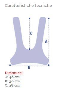 CINTURA PETTORALE A CORPETTO - Sostegni posturali