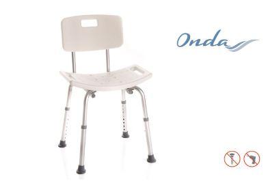 Sedile Per Doccia : Sedile per doccia con schienale centro tecnico ortopedico