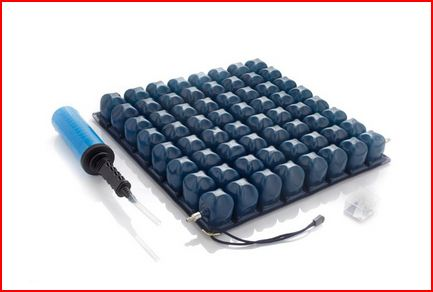 CUSCINO A BOLLE D'ARIA A MICROINTERSCAMBIO ALTEZZA 6 CM - PVC - Materassi e cuscini antidecubito statico