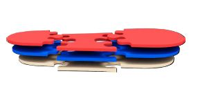 PUZZLE KIT 3*3 - Accessorio - DIAB - CLHEEL - MOTUS -  W-HEEL