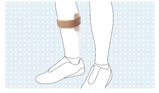 Ortesi dinamica gamba-piede - Tutore gamba piede