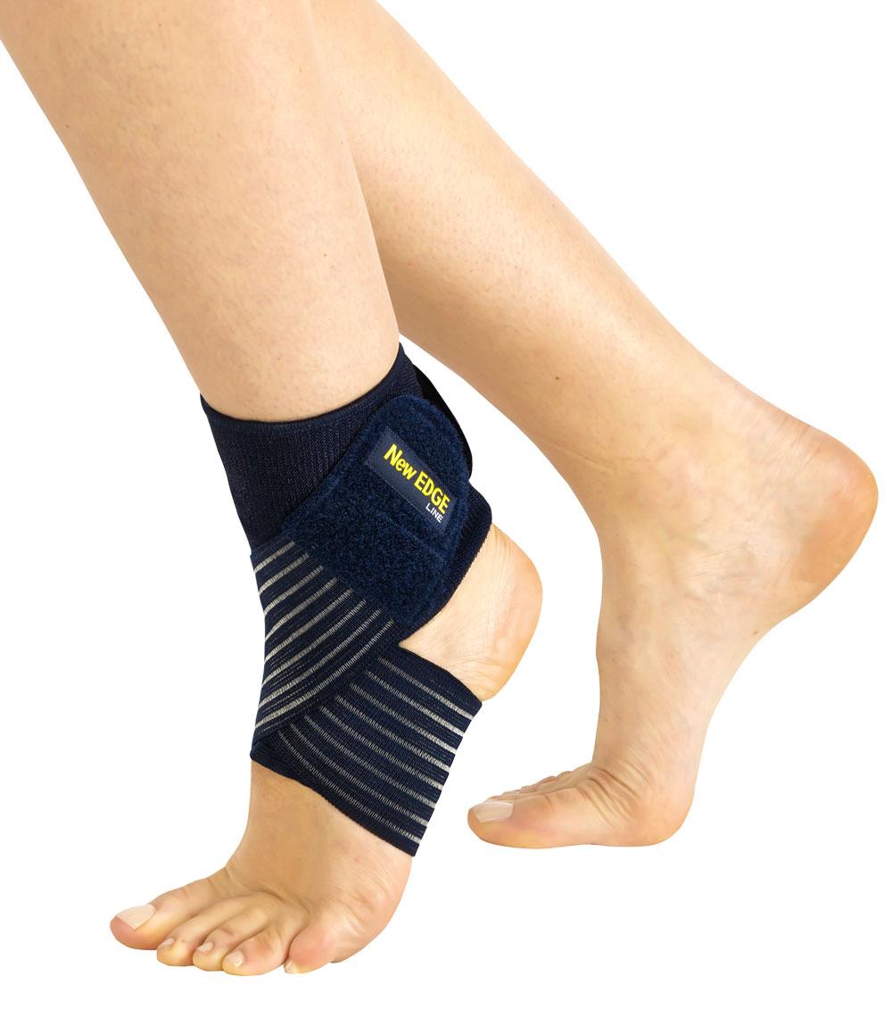 CAVIGLIERA ELASTICA CON BENDAGGIO A 8 - Cavigliera elastica con bendaggio a 8