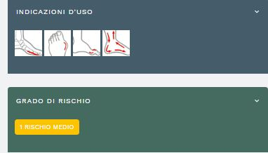DEAMBULO SPORT - Scarpa post operatoria