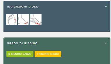 ALIPES COCCO ROSSO - Ciabatte ortopediche donna