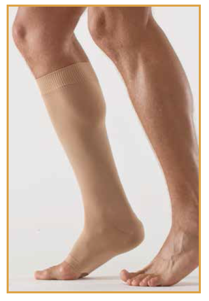 Gambaletto post gesso -  Calze a compressione graduata