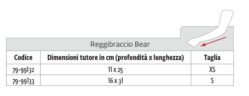 Bear - Reggibraccio pediatrico