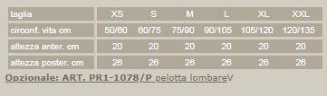 Criss-cross 78 - Beige - Corsetto lombare