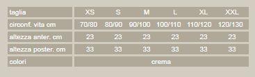Lite-cross 91 - Crema - Corsetto lombare