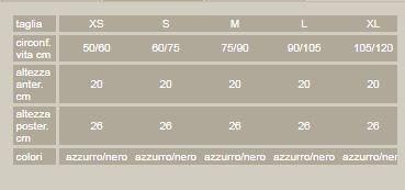 Linear 70   - Corsetto lombare