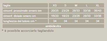Castop PR2-726 - Tutore per frattura omero