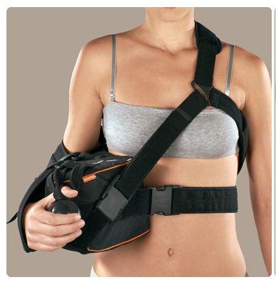 Extra-S 15° destro (Extrashould 15°) - Immobilizzatore di braccio e spalla con supporto per gomito