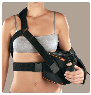 Extra-S 15° sinistro (Extrashould 15°) - Immobilizzatore di braccio e spalla con supporto per gomito