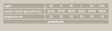 Activum - Tubolare PR3-9429 - Ginocchiera per legamenti