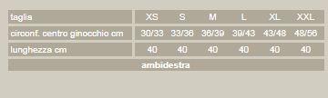 Activum - Aperta PR3-9430A - Ginocchiera per legamenti