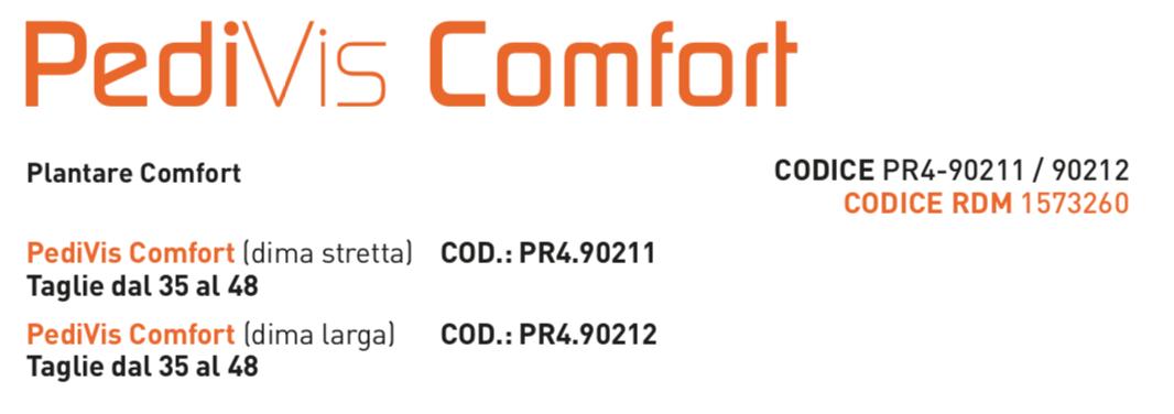 PediVis Comfort - Plantare anatomico