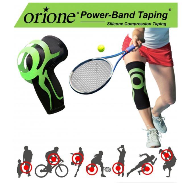 GINOCCHIERA CON POWER BAND TAPING INTEGRATO - Ginocchiera sportiva