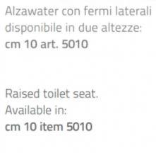 Alzawater cm 10 -  Rialzo per wc