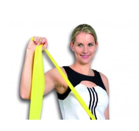 Banda elastica media rossa 2,50 mt - Banda Elastica