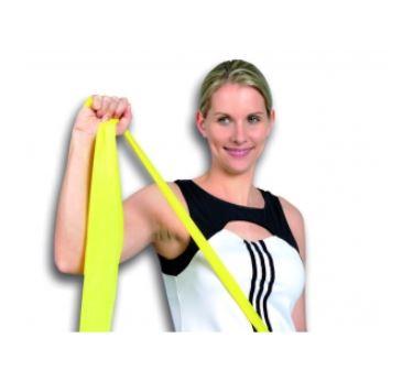 Banda elastica media-forte verde 2,50 mt - Banda Elastica