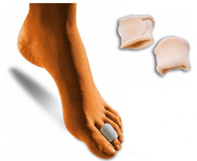 Anelli proteggi dita rivestiti in tessuto - Protezione dita piedi