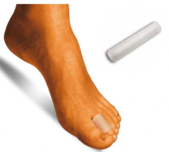 Tubo in gel ritagliabile proteggi dito - Protezione dita piedi