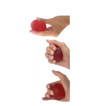 Pallina riabilitativa - Media rossa - Pallina riabilitativa