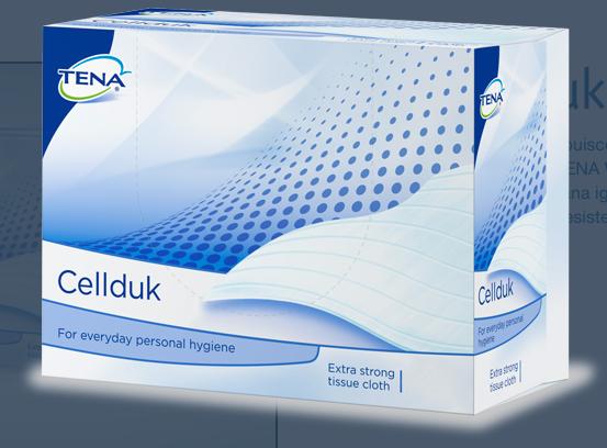 Cellduk - Morbida salviettina morbida a monouso