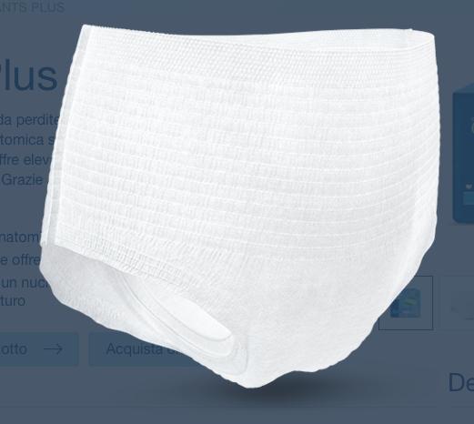 Pants - Plus - Mutandina assorbente