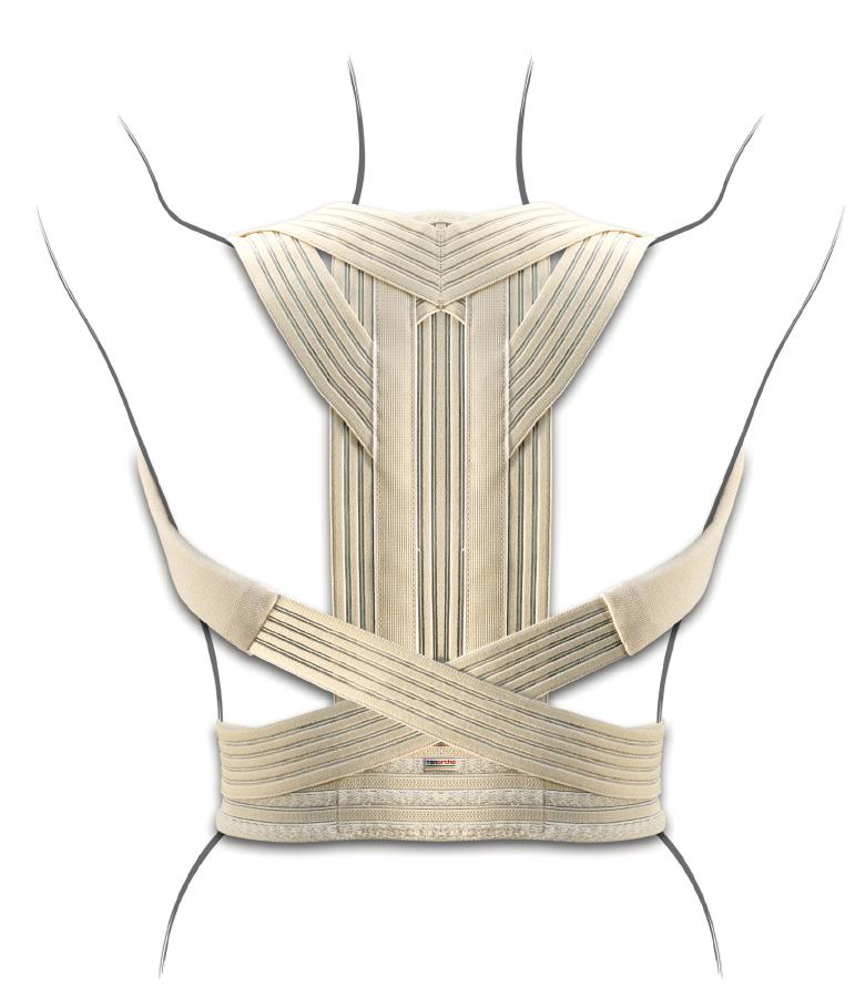 """Corsetto dorsale raddrizzaspalle in elastico """"BAND-UP"""" - Corsetto dorsale raddrizzaspalle"""