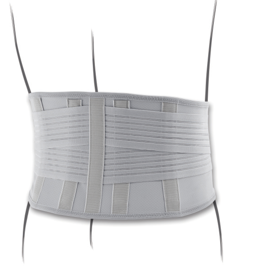 """Corsetto """"AGILOMB"""" sacro-Iliaco con fibra di carbonio - Corsetto muscolo-scheletrico sacroiliaco con fibra di carbonio"""