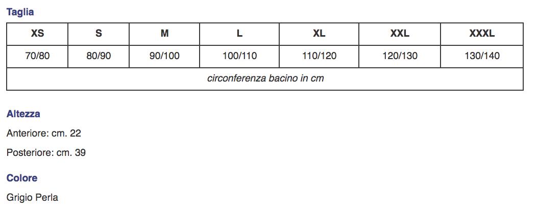 """Corsetto """"AGILOMB"""" lombo-dorsale con fibra di carbonio - Corsetto muscolo-scheletrico lombodorsale con fibra di carbonio"""