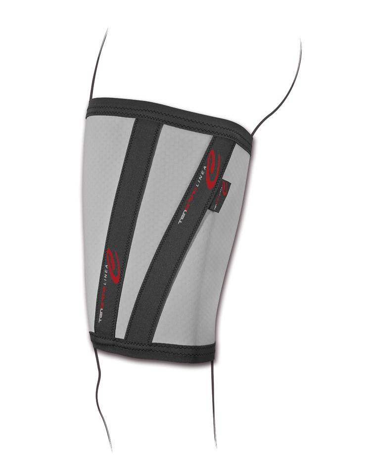 """""""C THIGH ®"""" Cosciale elastico con fibra di carbonio e taping integrato - Cosciale elastico con fibra di carbonio e taping integrato"""