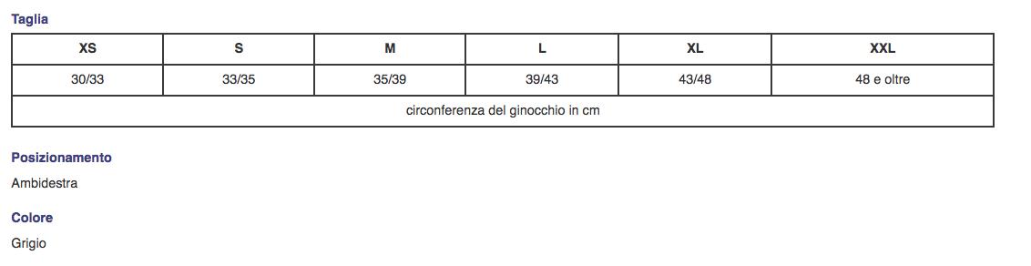C KNEE ® - Ginocchiera elastica