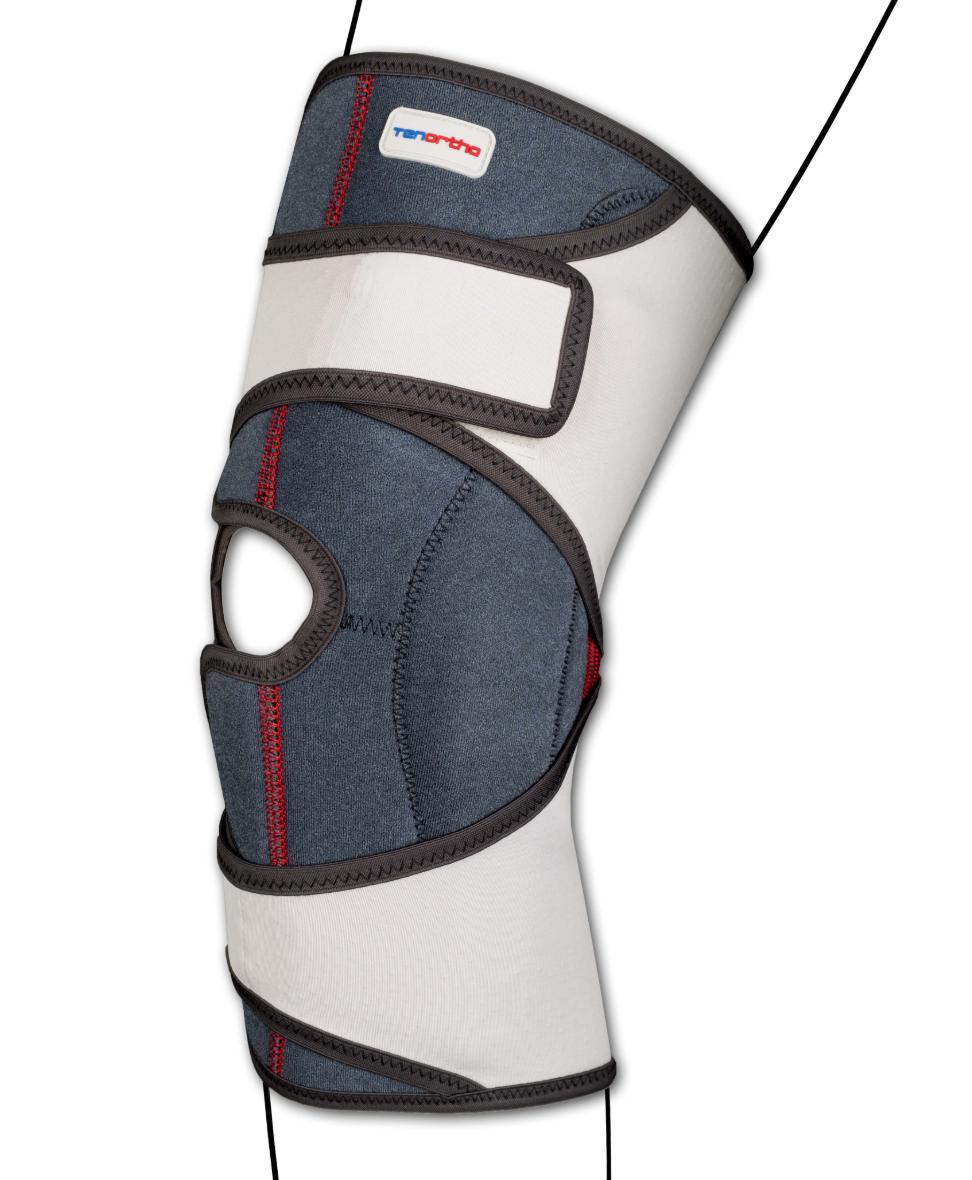 """Ginocchiera elastica """"GENU-TONIC"""" aperta con aste articolate - Ginocchiera elastica aperta con aste articolate"""