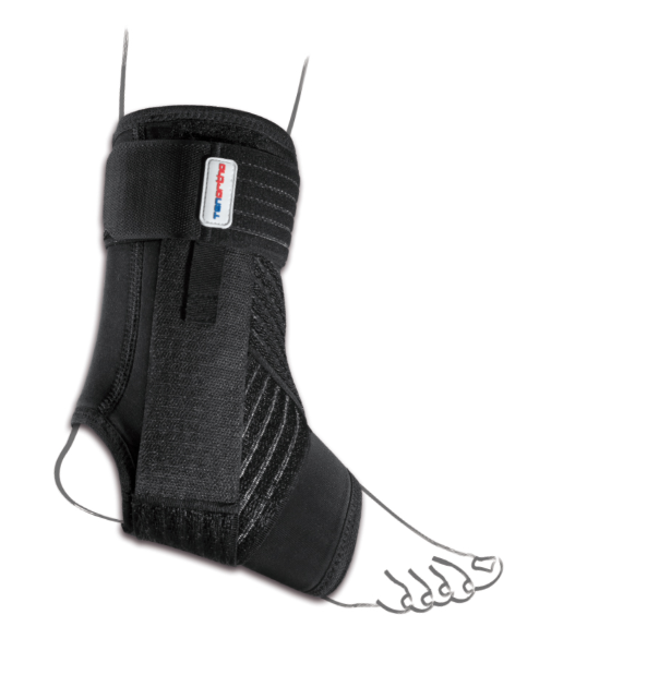 """Cavigliera stabilizzante in tessuto spacer """"NEW GAMMA"""" - Cavigliera in tessuto Spacer con stabilizzazione latero/mediale"""
