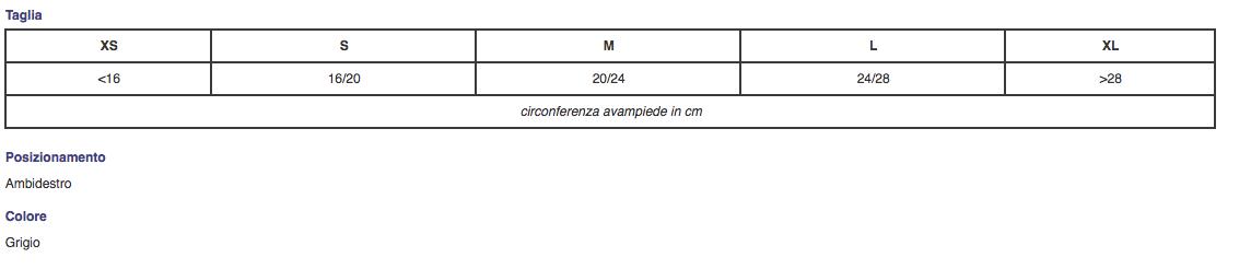"""Bendaggio per piede nudo """"SPRING-UP"""" - Accessorio - TO4104"""