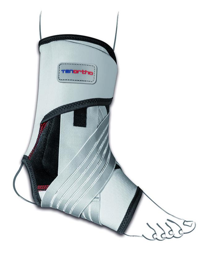 """Cavigliera elastica in fibra di carbonio con stabilizzazione latero/mediale con C6Tex """"GAMMA TONIC"""" - Cavigliera elastica in fibra di carbonio con stabilizzazione latero/mediale"""