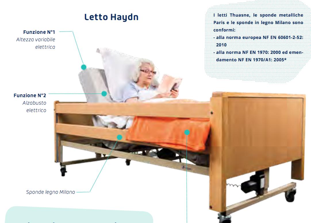 Letto Haydn - Letto elettrico per disabili