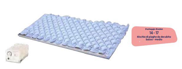 Sopra-materasso a pressione alternata e compressore - Coprimaterasso antidecubito
