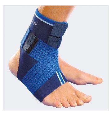 8072  - Cavigliera elastica con bendaggio a 8
