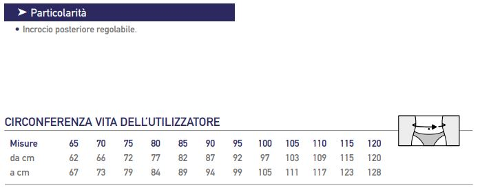 555/24 - Corsetto lombare