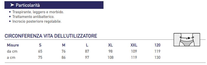 Crossover/34-30 - Corsetto lombare