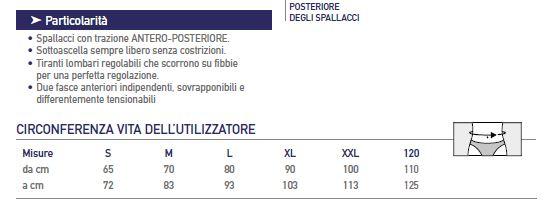 Ipertex©/S/52-58 - Corsetto ortopedico