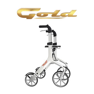 LET'S FLY - Rollator con freni